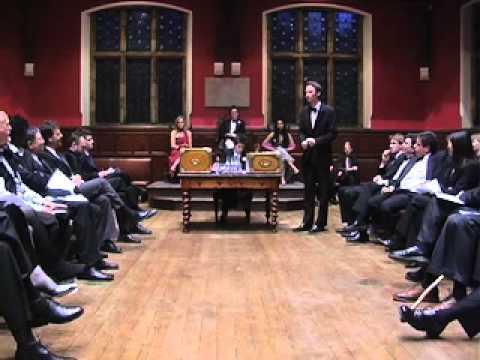 Oxford Union Debate: Internet and Democratisation, Part 3