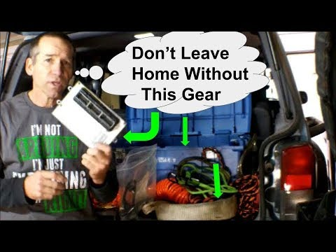 Survival Gear for You & Your Jeep