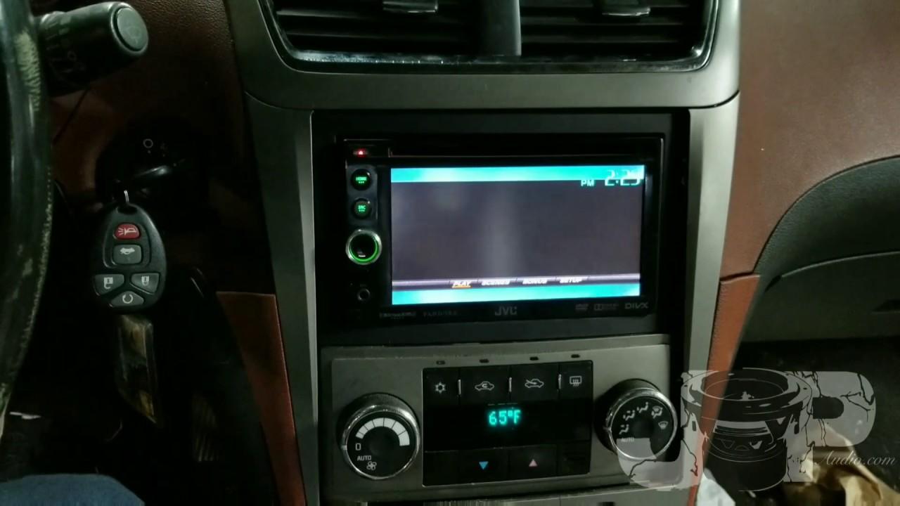 Chevy Malibu radio removal