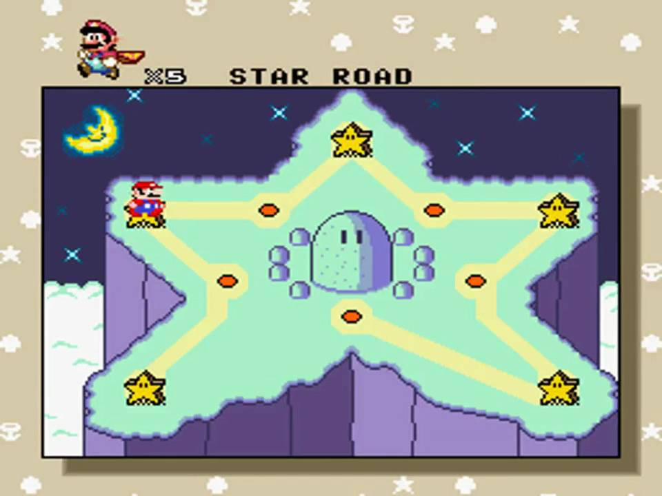 Super mario world star road 5 key exit without blocks youtube gumiabroncs Gallery