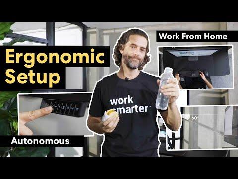 work-from-home-ergonomic-setup- -autonomous