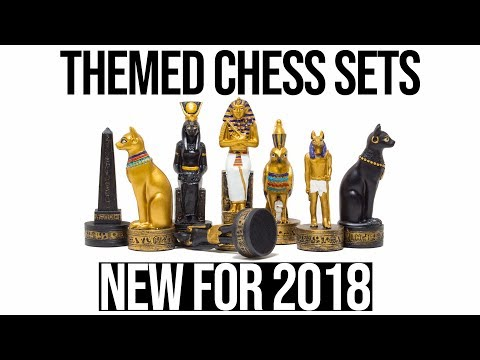 Themed Chess Sets - New For 2018 | Behind The Scenes At The Regency Chess Company