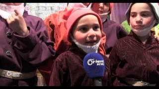عمل مسرحي للأطفال باللغة الإنجليزية في الغوطة الشرقية