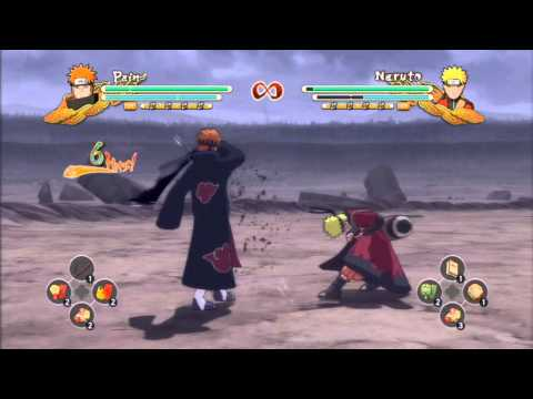 Naruto Shippuden: Ultimate Ninja Storm 3- Combo/Tilt Cancel Closer Look Tutorial