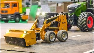 RC Trucks and Heavy Equipment at hard work!