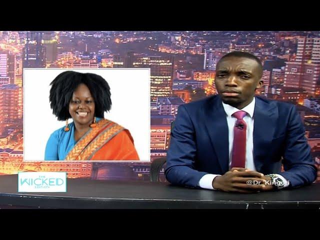Hon. Millie Odhiambo narrates how Moses Kuria clobbered her - The Wicked Edition episode 112