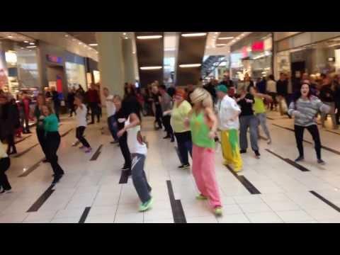 Bokwa flash mob - Fields shopping center, Copenhagen (Denmark) 10 November 2013
