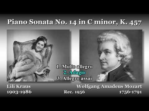 Mozart: Piano Sonata No. 14, Kraus (1956) モーツァルト ピアノソナタ第14番 クラウス