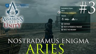 Assassin's Creed Unity Gameplay / Nostradamus Enigma Walkthrough Guide #3 / Aries