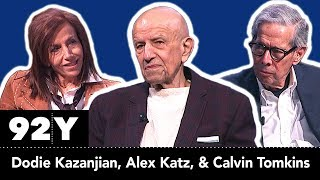 Alex Katz in conversation with Calvin Tomkins and Dodie Kazanjian