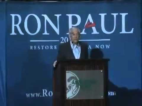 Ron Paul Speaks at Colorado State to a Sold Out Crowd!!!!!!