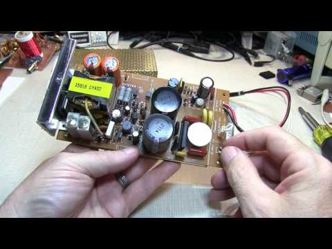 #258: Repair Log: Yaesu FT-736R re-cap of internal power supply | replace electrolytic capacitors