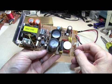 #258: Repair Log: Yaesu FT-736R re-cap of internal power supply | replace electrolytic capacitors