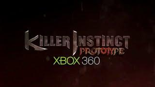 Killer Instinct 2013 Xbox 360 Prototype Build