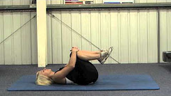 Static Stretching   Lower Back Stretch 1