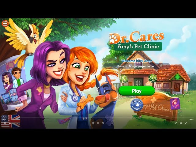 Dr. Cares - Amy's Pet Clinic    Level 1