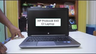 HP Probook 640 G1 Review - The Perfect Laptop for students?