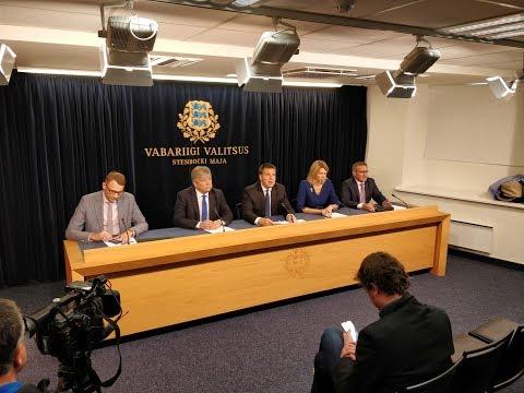 Valitsuse pressikonverents, 7. september 2017