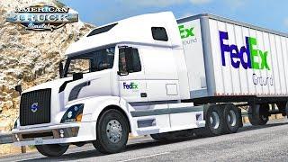 American Truck Simulator - FedEx to Las Vegas