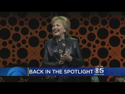 Hillary Clinton Targets Trump Administration In San Francisco Speech