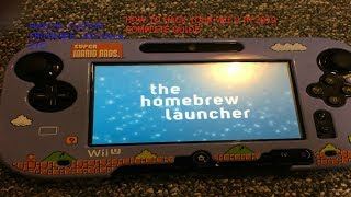 Complete Guide To Hacking Your Wii U In 2020 - Homebrew, CFW, Haxchi, Mocha, vWii, and more!