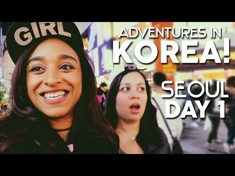 Adventures in Korea! Seoul: Day 1