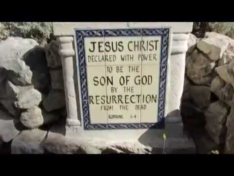 Gordon's Carvery & The Garden Tomb, Jerusalem - Tour Guide: Zahi Shaked. August 23, 2013