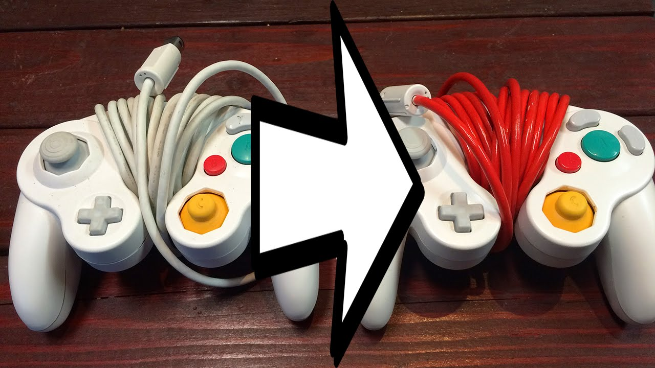 how to paint your gamecube controller cable youtube