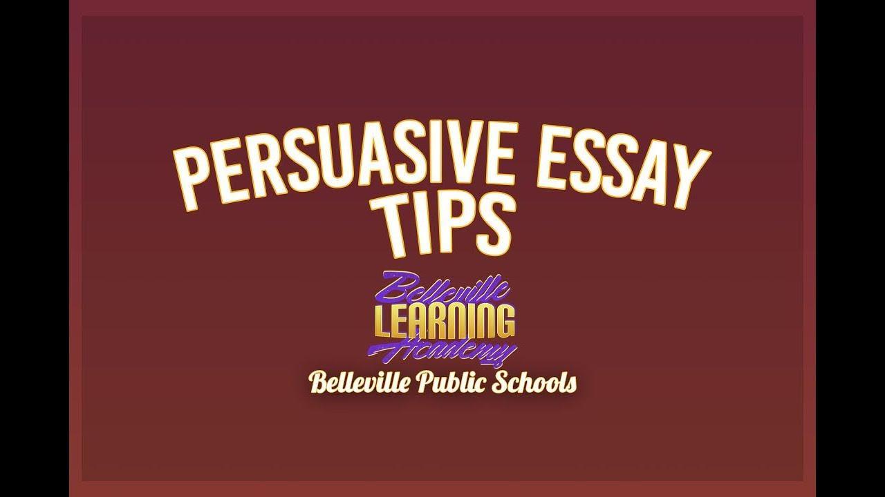 English Essay Com Persuasive Essay Tips Healthy Food Essay also Essay Examples English Persuasive Essay Tips  Youtube Science Essays