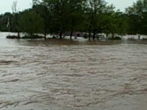 Drakes Creek Park Flood Hendersonville,TN