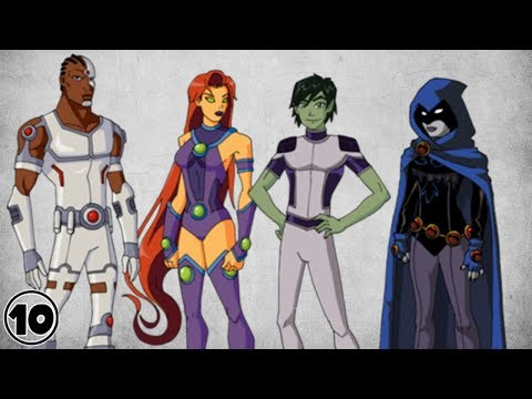 Top 10 Alternate Versions Of The Teen Titans