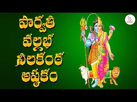 SRI PARVATHI VALLABHA NEELAKANTA STOTRAM  IN KANADA RAGAM   Bhakti Songs   Eagle Media Works