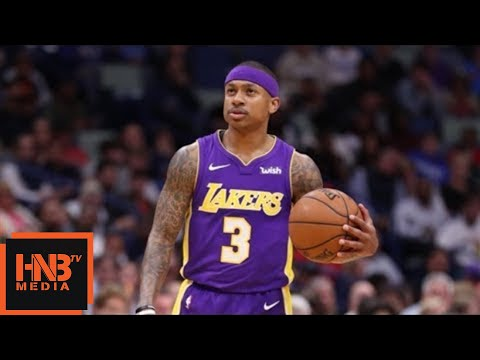 Download Youtube: Los Angeles Lakers vs New Orleans Pelicans 1st Half Highlights / March 22 / 2017-18 NBA Season