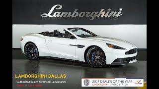 2016 Aston Martin Vanquish Carbon Volante Stratus White 17l0017a Youtube