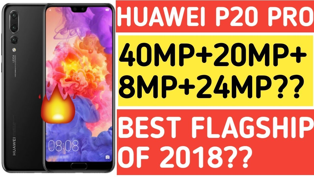 Huawei P20 Pro India Launch,Price,Specifications - Real Camera Beast??  [Hindi]