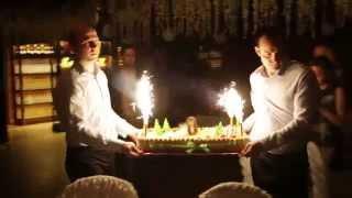 Ведущий на День рождения  Валерий Чигинцев