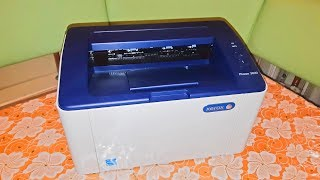 Распаковка принтер Xerox Phaser 3020BI Wi-Fi (3020V_BI) + USB cable