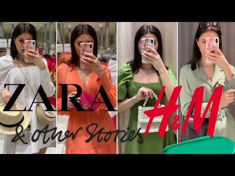 ZARA, & OTHER STORIES, H&M : ЛЕТНИЙ ШОППИНГ ВЛОГ