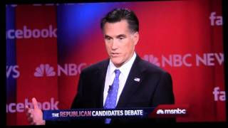 Jon Huntsman grilling Mitt Romney on serving as Ambassador to China w/ President Obama. MSNBC HD