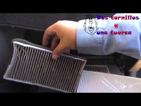 Cambio de Filtro de Cabina De aire interior anti polen Suzuki Vitara 1999 Cabin Filter Installation