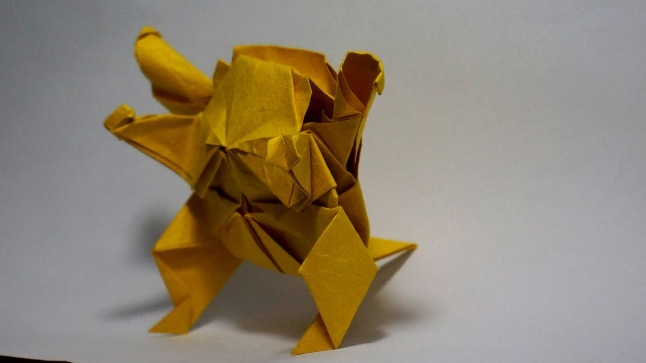 pokemon go origami pokemon blastoise tutorial henry