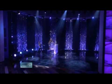 HD Lady GaGa   Poker Face   Live on The Ellen DeGeneres Show
