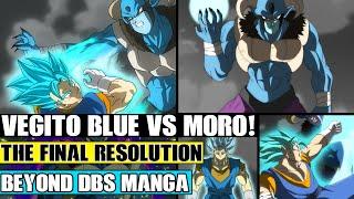 Beyond Dragon Ball Super: Vegito Vs Moro Begins! Goku And Vegetas Final Resolution (Fan Manga)