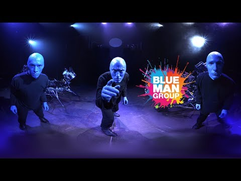 VR - Blue Man Group 360 Video - Live at Luxor Las Vegas