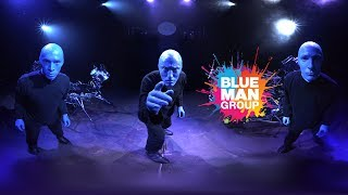 VR - Blue Man Group 360 Video - Live at Luxor Las Vegas