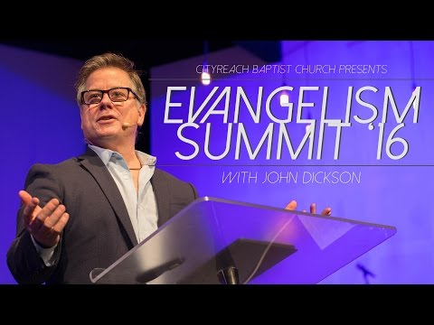 Promoting the Gospel with MORE than our lips - John Dickson