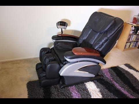 Shiatsu Massage Chair Full Review ModelEC06C  YouTube