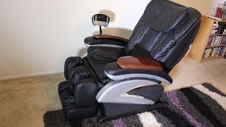 shiatsu massage chair full review model ec06c