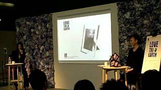 インテリアライフショーにて松田美由紀さんのトークの模様です。