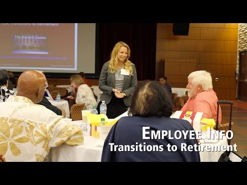 Transitions to Retirement - July 2015